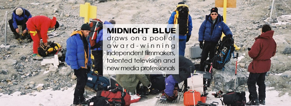 midnight blue media, talented media professionals, independent filmakers